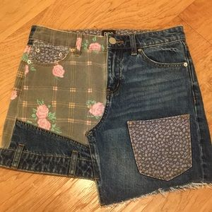 Urban outfitters BDG mini skirt patchwork size s